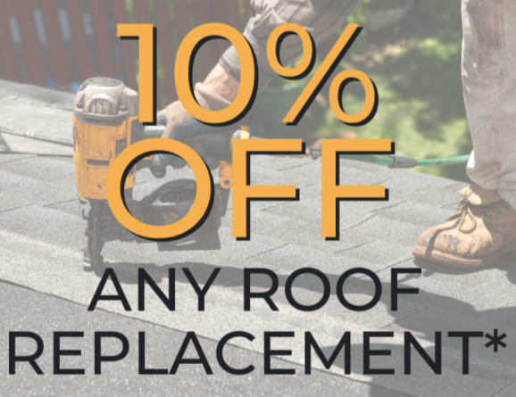 10% OFF Any Roof Replacement! 🛠